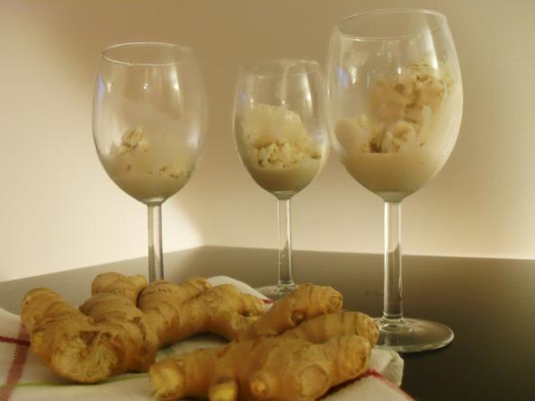 Dairy-free Maple-Ginger Ice Cream