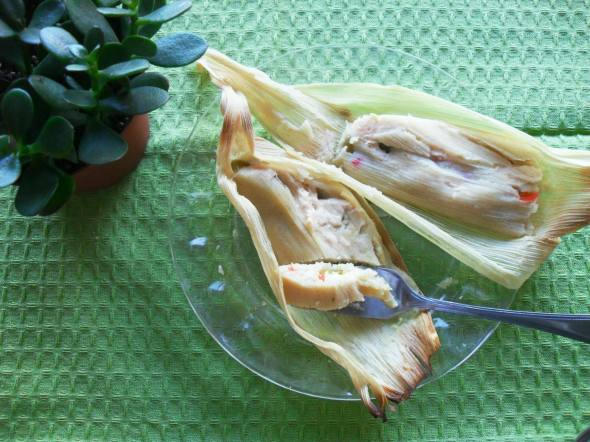 Tamales de Rajas (https://blogderecetas.wordpress.com/)
