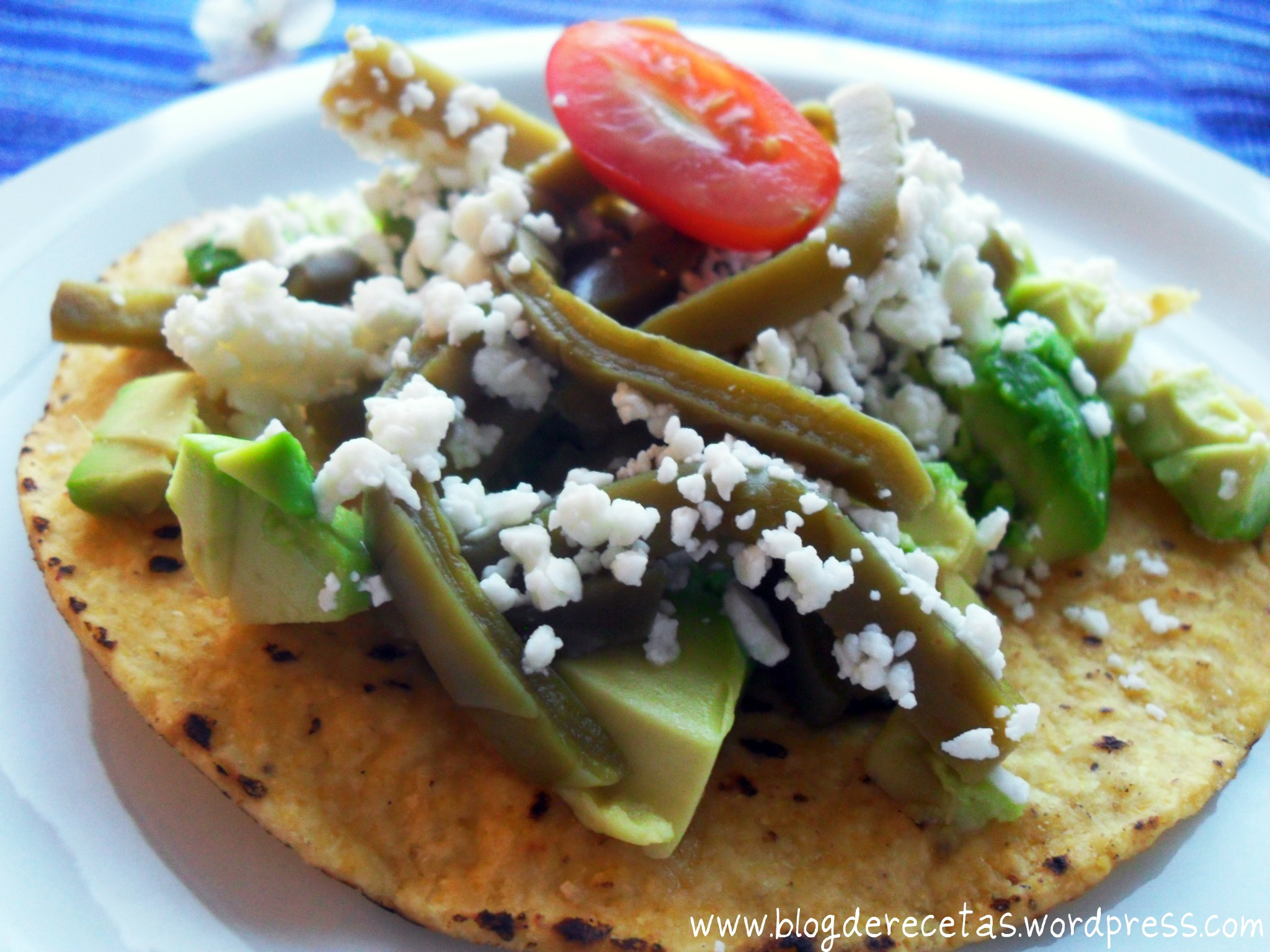 usually eat these tostadas for breakfast  They are fulfilling and